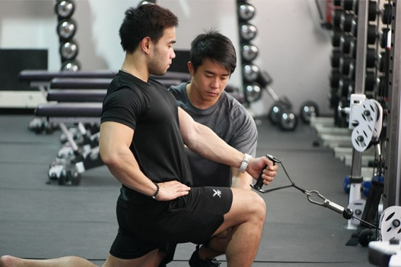 muscle building personal training singapore